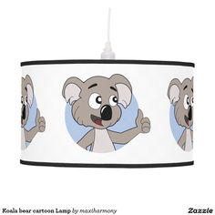 Koala bear cartoon Lamp
