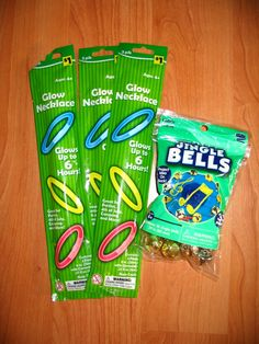 Supplies To Help Keep Track of Junior. Camping With A Toddler. Bells and glow sticks a great idea!