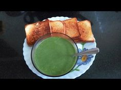 Palak Soup -- Spinach Soup Recipe -- Nutrtious, Low Calorie, Yummy