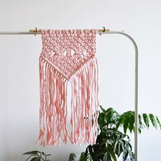 Finally listed this cutie in my #etsyshop - we will see how long it's gonna stay with me - there is only one! I think it should go to some nursery or just pink lover 👌🏻🎀🌸🦑 #macramewallhanging #macrame #macramelove #pinklove #nurserydecor #babyshower #babyshowergift #babygirlnursery #baby girl #pinkbabyshower #macrametapestry #walldecor #pinkdecor #hygge #simpledecor #minimalism #plantaddict #shopsmall #etsyfinds #etsyfavorites #yanyula #nurseryinterior #macramedecor #macrameart #macramé…
