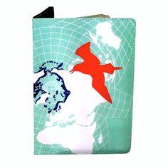 Fab.com | Blue Bird Passport Holder