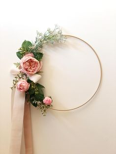 Set of 3 floral hoops Wreath, Floral backdrop prop, garden Wedding decoration, boho chic photo prop custom made, floral nursery wall piece Hand Flowers, Blush Flowers, Felt Flowers, Wedding Wreaths, Diy Wedding, Wedding Decorations, Garden Wedding, Christmas Decorations, Party Fotos