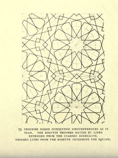 surface fragments: Islamic pattern designs