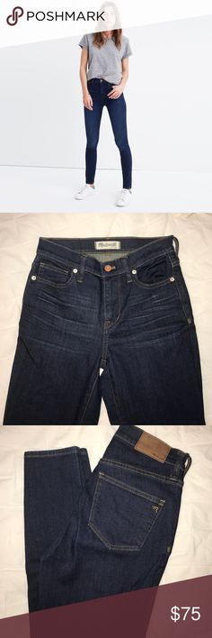 Madewell high rise jean. EUC. Worn very little. Always hung dry. Like new! 9 inch rise. Madewell Jeans Skinny
