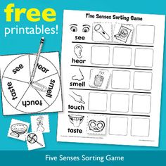 Learn about the five senses playing this free game.