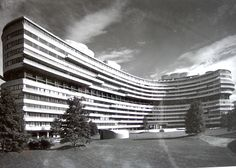 Watergate complex, Washington D.C. (1960) | Luigi Moretti (Italy) & Milton Fischer (USA)