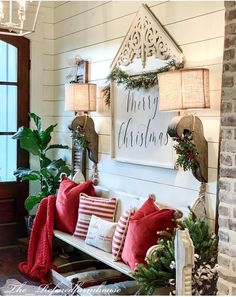 32 Amazing Farmhouse Christmas Porch Decor And Design Ideas. If you are looking for Farmhouse Christmas Porch Decor And Design Ideas, You come to the right place. Below are the Farmhouse Christmas Po.
