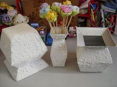 Vaso com caixa de leite - passo a passo - tutorial - diy - artesanato - reciclagem - YouTube