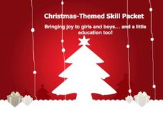 Christmas Themed Skill Packet-$3.50