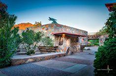 Kiva #taliesinwest #franklloydwrightfoundation #scottsdale #arizona