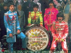 """Beatles Rarity Of The Week – """"Sgt. Pepper's Lonely Hearts Club Band"""" (unconnected) The Beatles, Beatles Photos, Beatles Art, Iggy Pop, Robert Smith, Kinds Of Music, Music Is Life, Great Bands, Cool Bands"""
