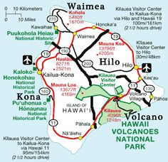 Destinations on the Big Island: Kona, Hilo, Volcano and Waimea To make planning your Big Island vacation easy we split the Big Island in four zones: Volcano, Kona, Hilo and Waimea. Big Island Hawaii, The Big Island, Hawaii Honeymoon, Hawaii Travel, Map Of Hawaii, Hawaii 2017, Visit Hawaii, Honeymoon Destinations, Holiday Destinations