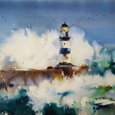 Watercolorist: @blancaalvarezwatercolors  #waterblog #акварель #aquarelle #painting #drawing #art #artist #artwork #painting #illustration #watercolor #aquarela