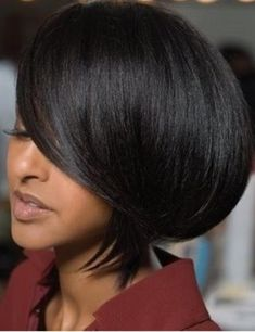 Quick and Easy Short Weave Hairstyles. Quick Short Weave Hairstyles for Women. Many women turn to hair extensions only when they need a long hairstyle. Short Weave Hairstyles, Medium Bob Hairstyles, Short Bob Haircuts, Hairstyles Haircuts, Cool Hairstyles, Black Hairstyles, Short Hair Cuts, Short Hair Styles, Bob Styles