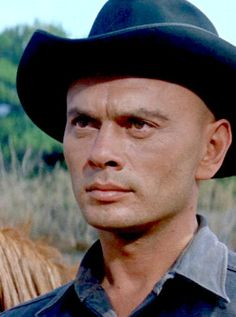 Yul Brynner ~ The Magnificent Seven, 1960