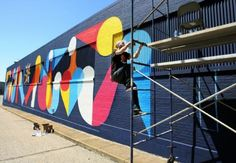 Muralist transforms warehouse wall along Broad Avenue » The ...