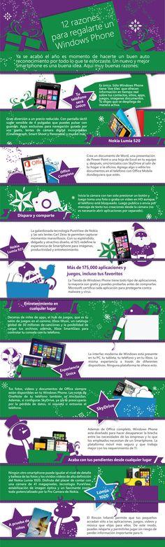12 razones para regalarte un Windows Phone