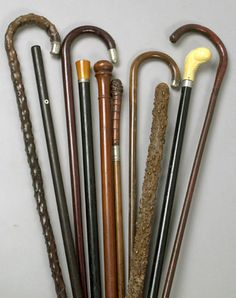 ... more antique canes