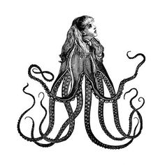 Dan Hillier, a London-based artist responsible for bringing mad Victorian-inspired engravings and tentacles together.