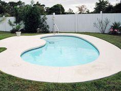 Blue Hawaiian Fiberglass Pools and Spas | Kidney