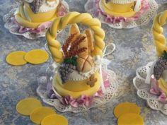 Pasteles Decorados | Canastitas de comunión |Romina Martínez