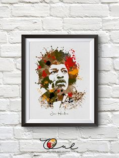 Jimi Hendrix Poster Jimi Hendrix Print Jimi par OULARTDESIGN