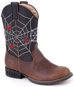 Roper 09-018-1201-1211 - Kid's 8 Inch Western Boots Style