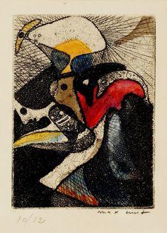 Max Ernst La loterie du jardin zoologique, 1951