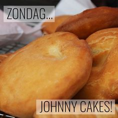 Aruba Food, Johnny Cakes Recipe, Johnnycake, Cake Recept, Baking Science, Cooking Websites, How To Cook Zucchini, Good Food, Yummy Food