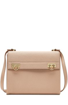 Salvatore Ferragamo Leather Mya Shoulder Bag