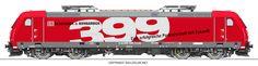 #locomotive #railcolor #traxx #Bombardier #bombardierrail #railion #deutschebahn http://www.railcolor.net