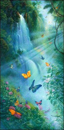 Tom duBois - Butterflies in the Mist - Image Zoom