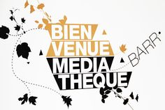 signaletique>mediatheque>identite>design Art Mural, Concept Architecture, Decoration, Signage, How To Plan, Collections, Design, Visual Communication, Chart