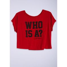 Pretty Little Liars, Who Is A? Tee