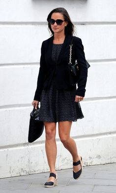 Pippa Middleton Photos - Pippa Middleton leaves the office where she works and…