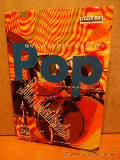 OS GRANDES ÊXITOS POP. CD ROM   12 TEMAS EM VERSÃO ORIGINAL. FOTOGRAFÍAS   VIDEO. CALIDAD LUJO