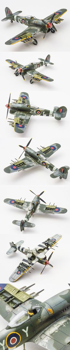 Hawker Typhoon 1/72 scale by Korhan AKBAYTOGAN