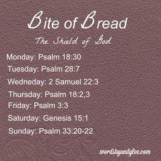 Bite of Bread Shield of God