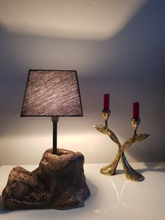 HolzWoodLemn Table Lamp, Lighting, Trending Outfits, Handmade Gifts, Etsy, Vintage, Home Decor, Driftwood Lamp, Kid Craft Gifts