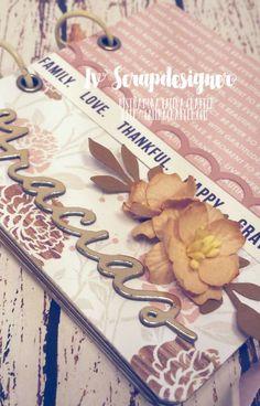 Iv ScrapDesigner: Blog Hop - Dando gracias con Latina Crafter