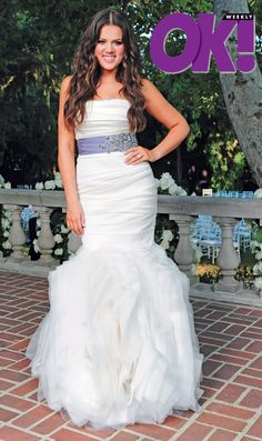 wedding photos khloe kardashian official web site khloe kardashian wedding pictures 500x843