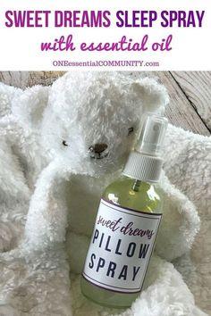 best essential oils for sleep + 12 favorite essential oil sleep spray recipes -- helps fall asleep & stay asleep