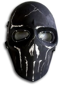 Army of Two Mask Paintball BB Gun Airsoft Protective Gear Ronin Zombie Cosplay