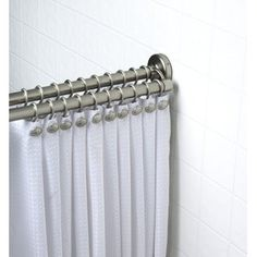 1000 Images About Shower Curtain Rod On Pinterest Shower Rod Brushed Nickel And Double