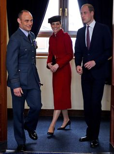 Duchess Kate: The Cambridges Return to Anglesey for RAF Disbandment Parade