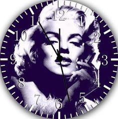 New Marilyn Monroe wall clock 10 Room Decor A319 by HappyApple996,