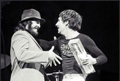 john bonham + keith moon, feb. 14 1974 would of love to seen a drum off with these 2 greats