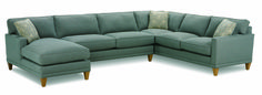 K621C Townsend Sectional from Rowe Furniture. www.rowefurniture.com Many different fabric options great feet