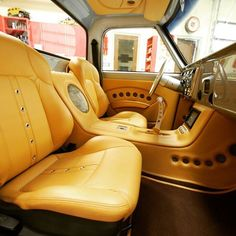 ideas for custom truck interior ideas vehicles C10 Chevy Truck, Classic Chevy Trucks, Chevy Pickups, Classic Cars, Custom Car Interior, Truck Interior, Interior Design, Interior Doors, Interior Ideas