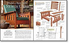 Build a Bow-Arm Morris Chair